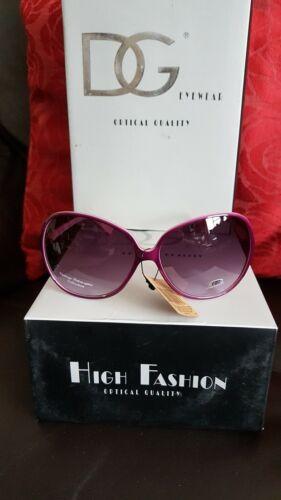 Occhiali da sole retrò vintage molto carino grande rosa scuro con l/'abbronzatura