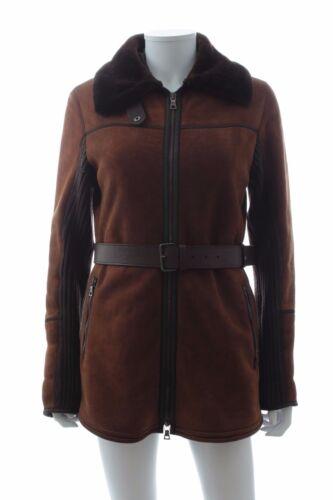 peau conseillé Prix de mouton véritableBrun Prada en vente Manteau de oeCxWdBr