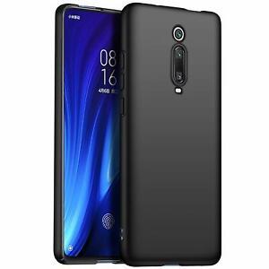 Pour-Xiaomi-MI-9-T-Pro-Case-Slim-Soft-Silicone-Gel-Housse-noir-mat