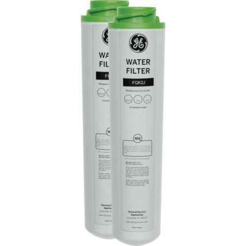 GE Dual Flow Replacement Water Filters Twist Lock Design Advanced Filtration