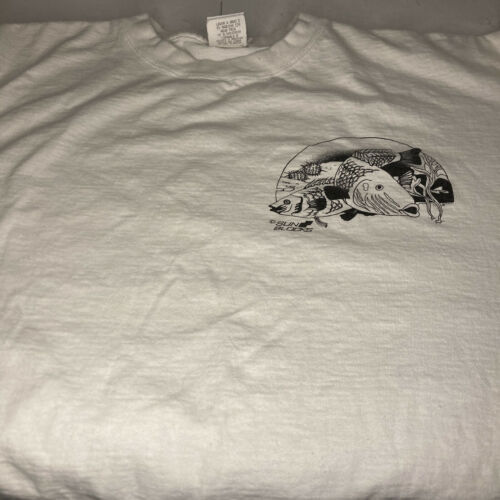 Vintage Sun Blocks White Size XXL T-Shirt