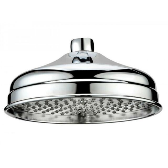 Scudo Traditional Rain Can Shower Head 200mm A Style Watering Design On