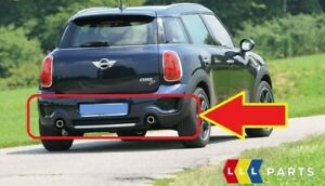 Nuovo-Originale-Mini-Countryman-R60-S-Post-Paraurti-Inferiore-Custodia-Cromata