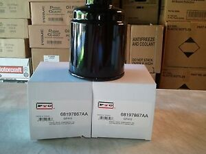dodge ram 6 7 diesel fuel filters 68197867aa 2013 2017 3. Black Bedroom Furniture Sets. Home Design Ideas