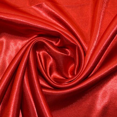 C2653 Red Economy Satin Fabric