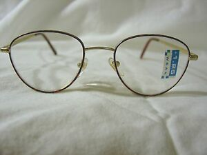 55dbefb65ff Foster Grant 1.25 Tortoise Frame Gold Arm Reading Glasses BRAND NEW ...
