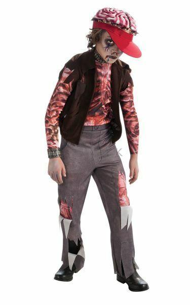 ! Oferta! Niños Chicos Halloween Horror Zombie Caminar Fiesta Vestido Elegante Traje De Disfraz