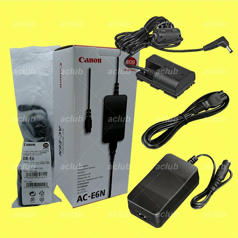 Canon Charging Kit for EOS 90D 80D 70D 60D 7D 6D Mark II 5D Mark III IV 5DS R Ra