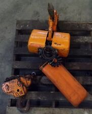 Jet Electric Chain Hoist 5 Ton 10ft Lift Phase 3 Type 5bs 134 Hp 460 Volts