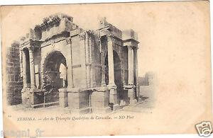Algerien-CPA-Tebessa-bogen-Triumph-Quadrifons-De-Caracalla
