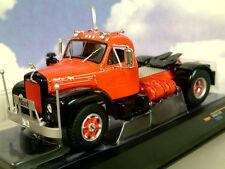 SUPERB IXO DIECAST 1/43 1953 MACK B 61 B61 TRUCK/TRACTOR IN RED & BLACK TRU001