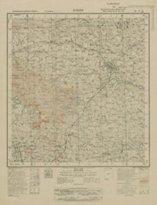 Survey Of India 73 I/sw West Bengal Purulia Ajodhya Hills Balarampur 1929 Map Punctual Timing Asia Maps