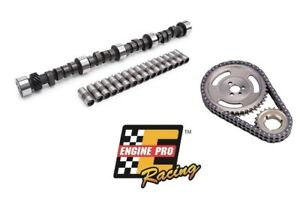 CHEVY-SBC-350-HP-RV-STAGE-2-420-443-CAMSHAFT-LIFTERS-ADJUSTABLE-TIMING-CHAIN-KIT