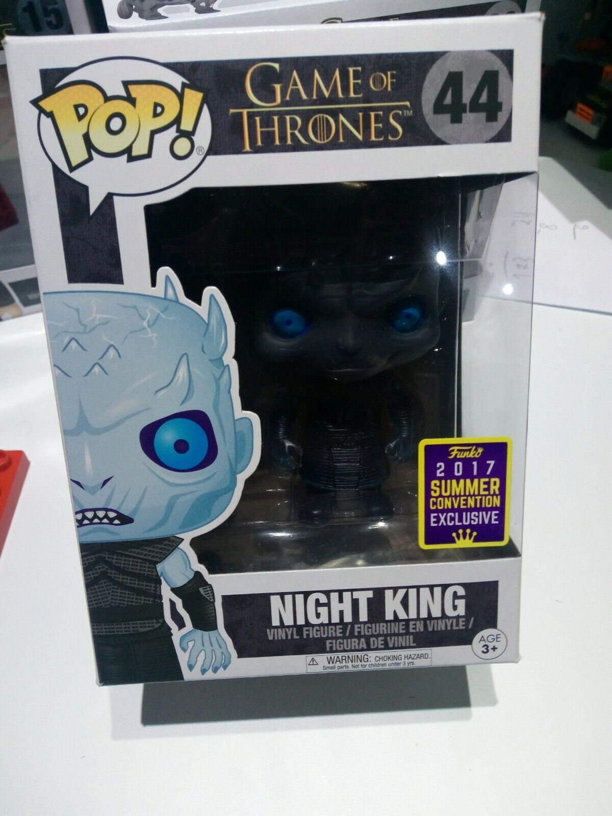 Funko Pop  Vynil Game of Thrones  Night King 2017 Summer Convention Exclusive