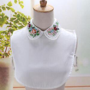 Sweater-Decor-Removable-Female-Collars-Half-Shirt-Fashion-Girls-amp-Women-Lace-DS