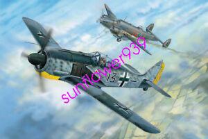 Hobbyboss-81802-1-18-WWII-German-Focke-Wulf-FW190A-5