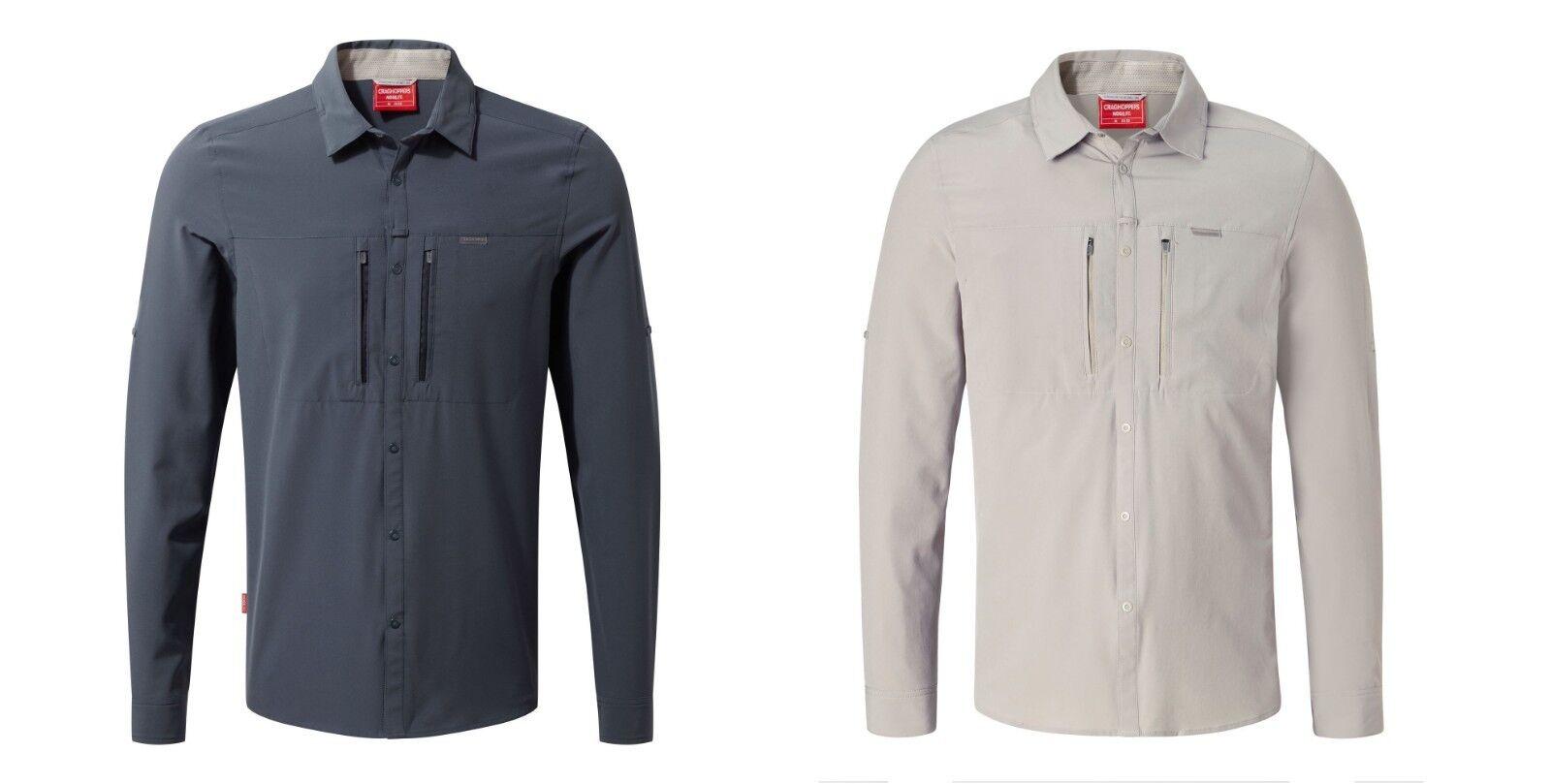 Craghoppers NosiLife Pro Langarm Hemd Herren UV- und Moskitoschutz  99,95 50%