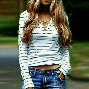 Sexy-Women-Round-Neck-Casual-Loose-Tops-Long-Sleeve-T-Shirt-Summer-Blouse