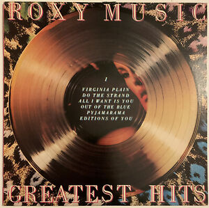 ROXY-MUSIC-GREATEST-HITS-LP-POLYDOR-UK-1972-NEAR-MINT-PRO-CLEANED