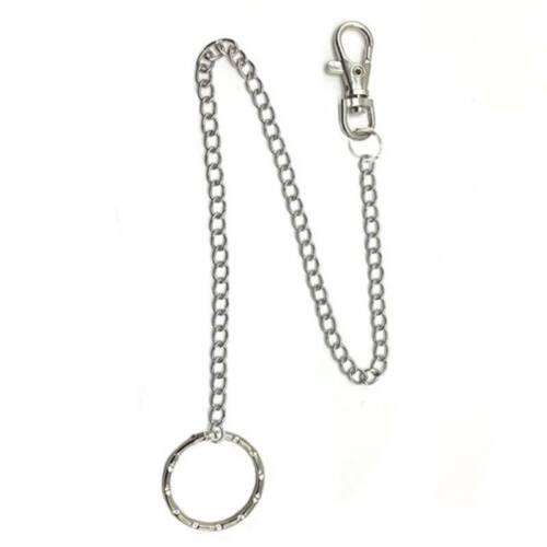 Unisex Wallet Waist Belt Chain Pants Trousers Jeans Rock Hop Hanging Chain S