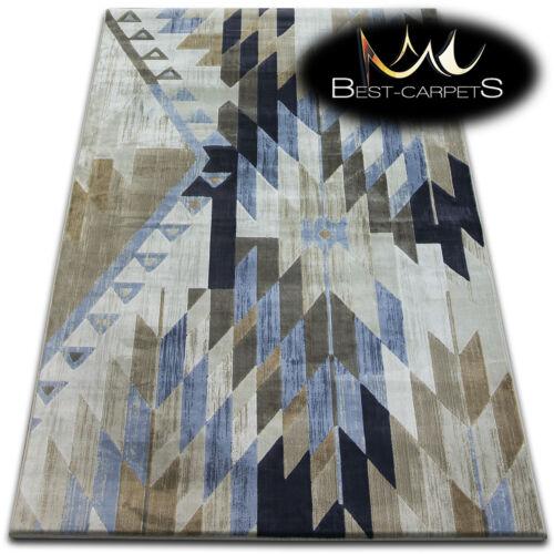 Nouveauté motif moderne tapis /'jasmin drop/' épais et agréable au toucher doux tapis soie