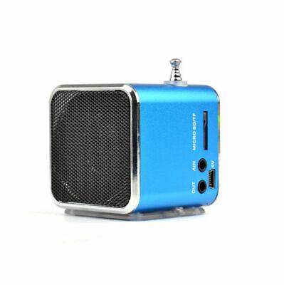 Colorful Stereo Portable  Micro SD TF USB FM MP3 Digital TD-V26 Radio New