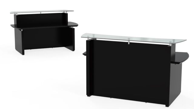 Mocha Office Furniture Reception Desk