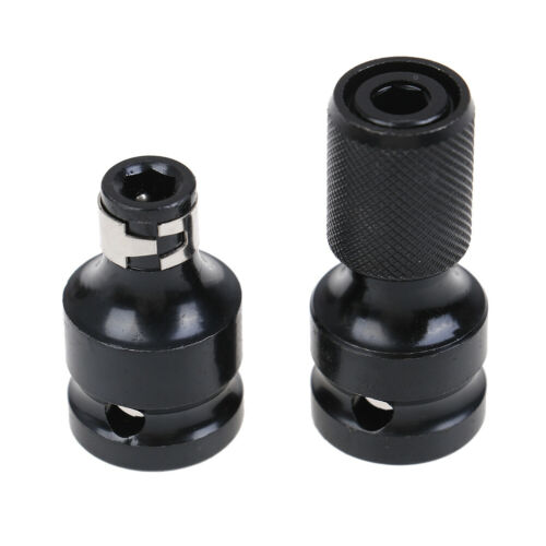 """1//2/"""" Square to 1//4/"""" hex ratchet socket adapter drive converter impact tool#"""