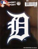 Detroit Tigers 3 Flat Vinyl Sport Die Cut Decal Bumper Sticker Emblem Baseball