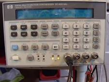 Agilenthp V8904a Opt 001002 Multifunc Synthesizer Good Working Amp Calibrated