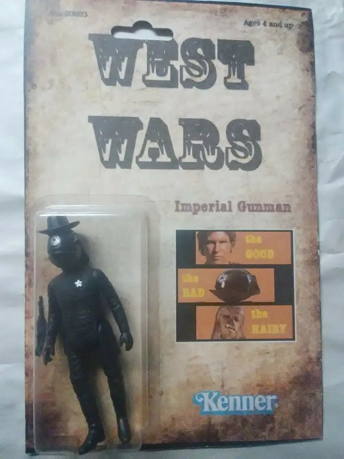 IMPERIAL GUNMAN WESTERN DKE KILLER StiefelLEG FIGURE STAR WARS FAR FAR WEST WARS1 1