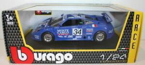 Burago-1-24-Scale-18-28010-Bugati-EB110-SuperSport-1994-Race