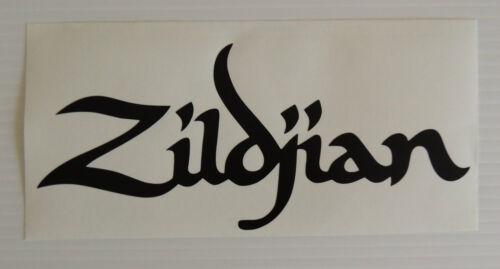 2 X Zildjian Drum logo Sticker//Decal 8 inch Percussion//Drummer//Drumkit