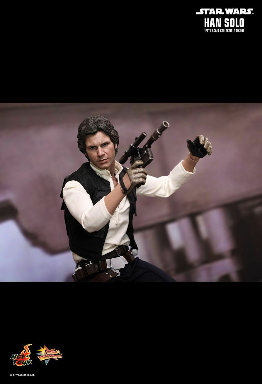 Hot Toys 1 6 Star Wars Episode IV 4 A A A New Hope Han Solo Special Edition MMS261 9600e2