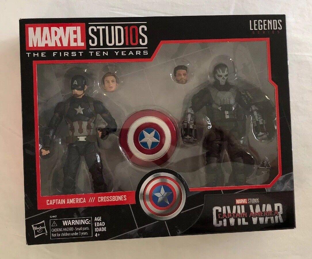 Marvel studios, die ersten zehn jahre legends series brgerkrieg captain america