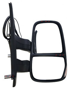 NEW-DOOR-MIRROR-ELECTRIC-SHORT-ARM-for-IVECO-DAILY-6-2006-7-2014-RIGHT-SIDE