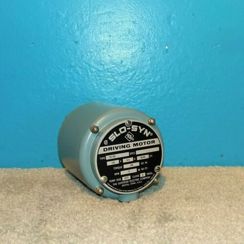 Superior Electric Co SLO-SYN Motor SS-150 120V 0.4A 72 RPM 150 Oz In Free Ship