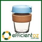 Glass Keep Cup KeepCup - Brew CORK ROCK SALT - Reusable Barista Grade Eco Coffee