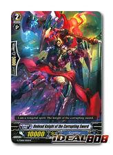 Cardfight Vanguard  x 4 Undead Knight of the Corrupting Sword - G-TD08/005EN - T