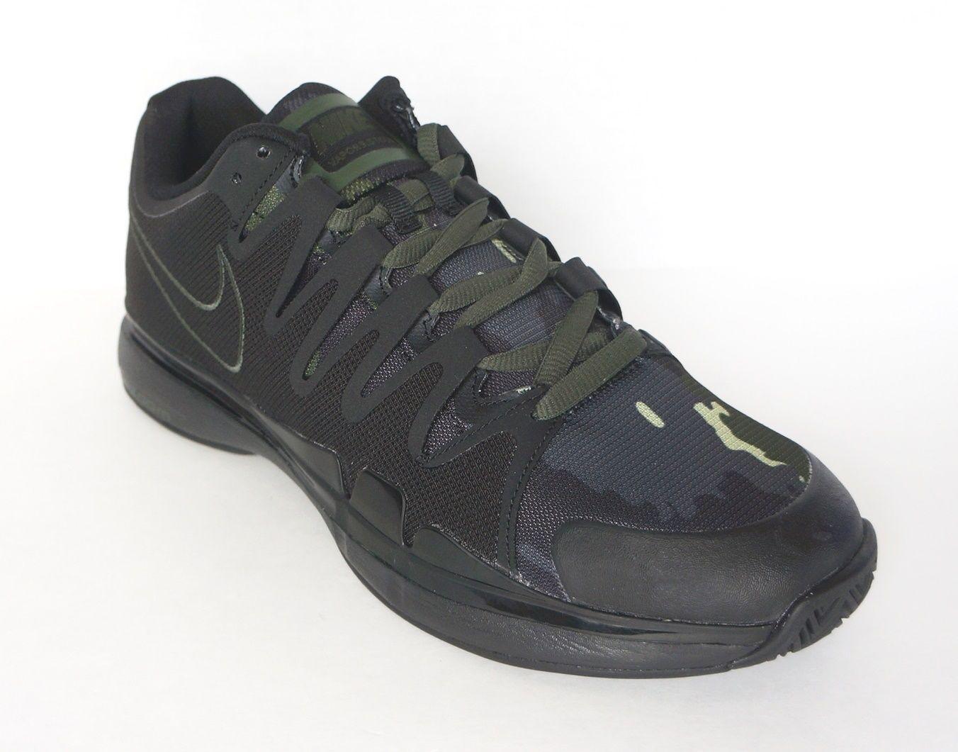 quality design 6e34c 8624f Nike Men Zoom Vapor 9.5 Tour QS Tennis Tennis Tennis Shoes Black Camo  812937-030