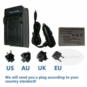 Replacement-Battery-charger-For-Canon-NB-5L-IXUS-960-970-IS-PowerShot-SX200
