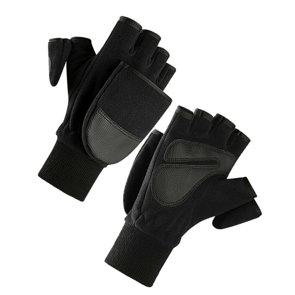 1 Pair of Men Warm PU Anti-slid Palm Durable Sports for Outdoor