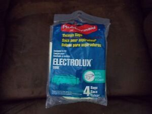 NEW-IN-SEALED-PACKAGE-4-Electrolux-Tank-Vacuum-Bags-BY-RUBBERMAID