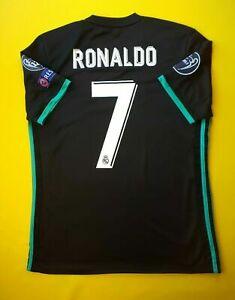 quality design 179d0 0bd02 Ronaldo Real Madrid Jersey Large 2018 Away Shirt BR3543 adidas Soccer Ig93