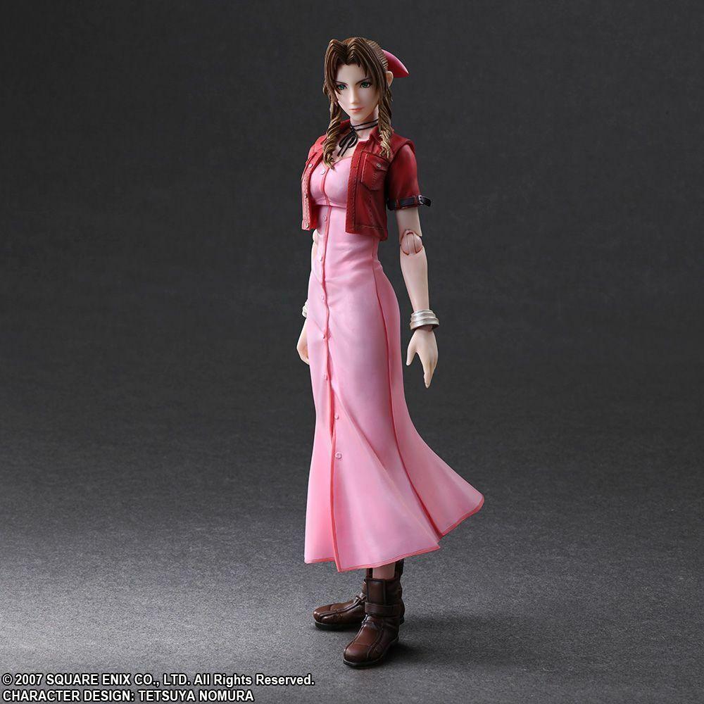 Final Fantasy VII Crisis Core-Aerith Jugar Arts Kai Figura de acción (Square Enix)