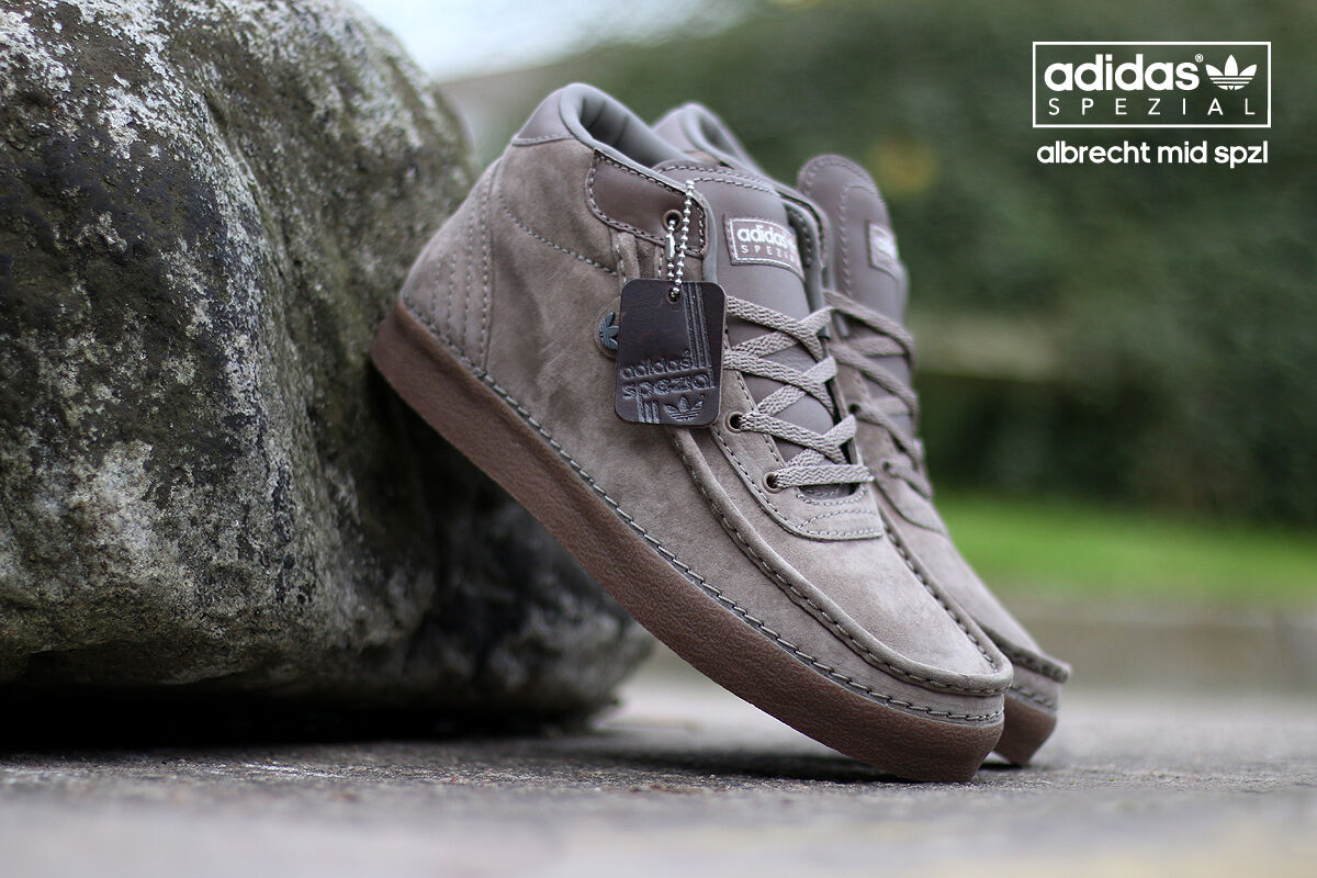 Adidas Originals x Spezial Albrecht Mid Brown/Gum S77815 (All Size) Sevilla SPZL