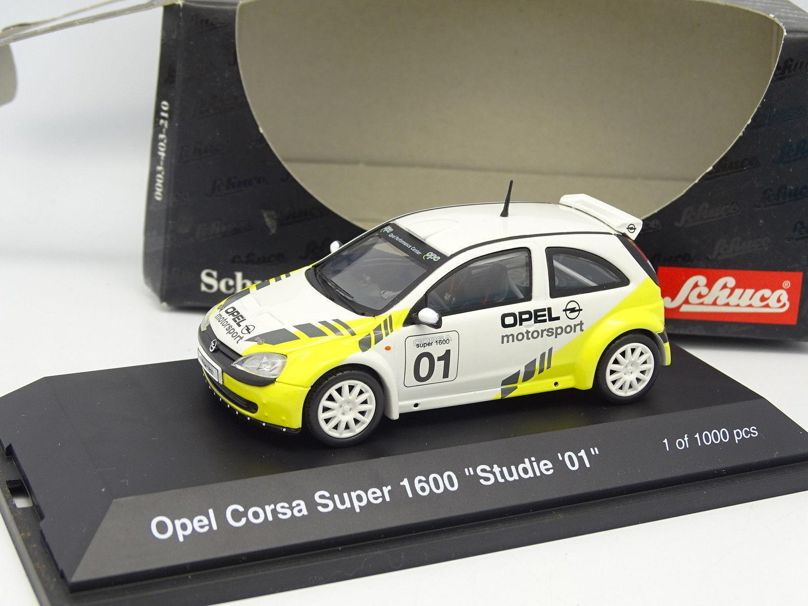 Schuco 1 43 - Opel Corsa Super 1600 Studie 01
