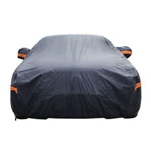 7-Layer PEVA Cotton Car Cover Outdoor Waterproof Sun Snow Rain UV Protection