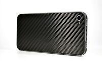 New Carbon Fiber Skin Back Cover for Apple iPhone 4 4G UK
