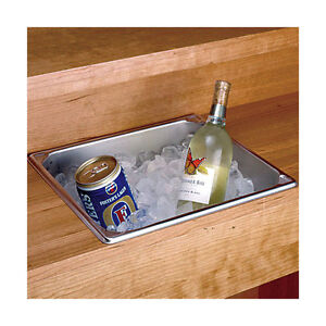 Image Is Loading Stainless Steel Dry Sink 14 25 Qt Home